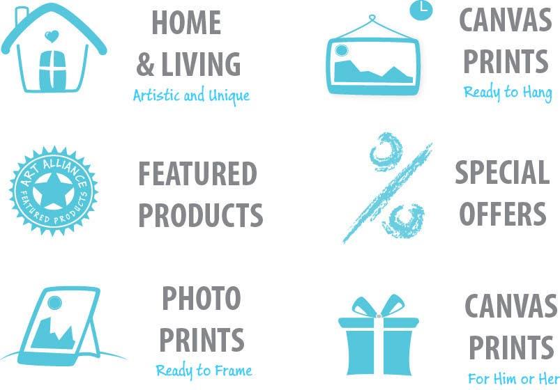 Kilpailutyö #26 kilpailussa Re-Design category icons/banners