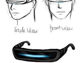 reginajessica96 tarafından Design a Sci-Fi Visor / Eyewear için no 3