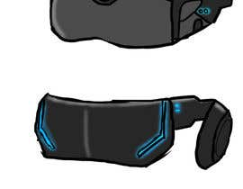 #10 for Design a Sci-Fi Visor / Eyewear by bluthoth