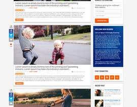 Nro 20 kilpailuun Design A Blog Mock Up käyttäjältä nikil02an