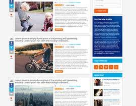 Nro 23 kilpailuun Design A Blog Mock Up käyttäjältä nikil02an