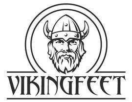 Nro 48 kilpailuun Logo for VIKINGFEET käyttäjältä Vlad35563