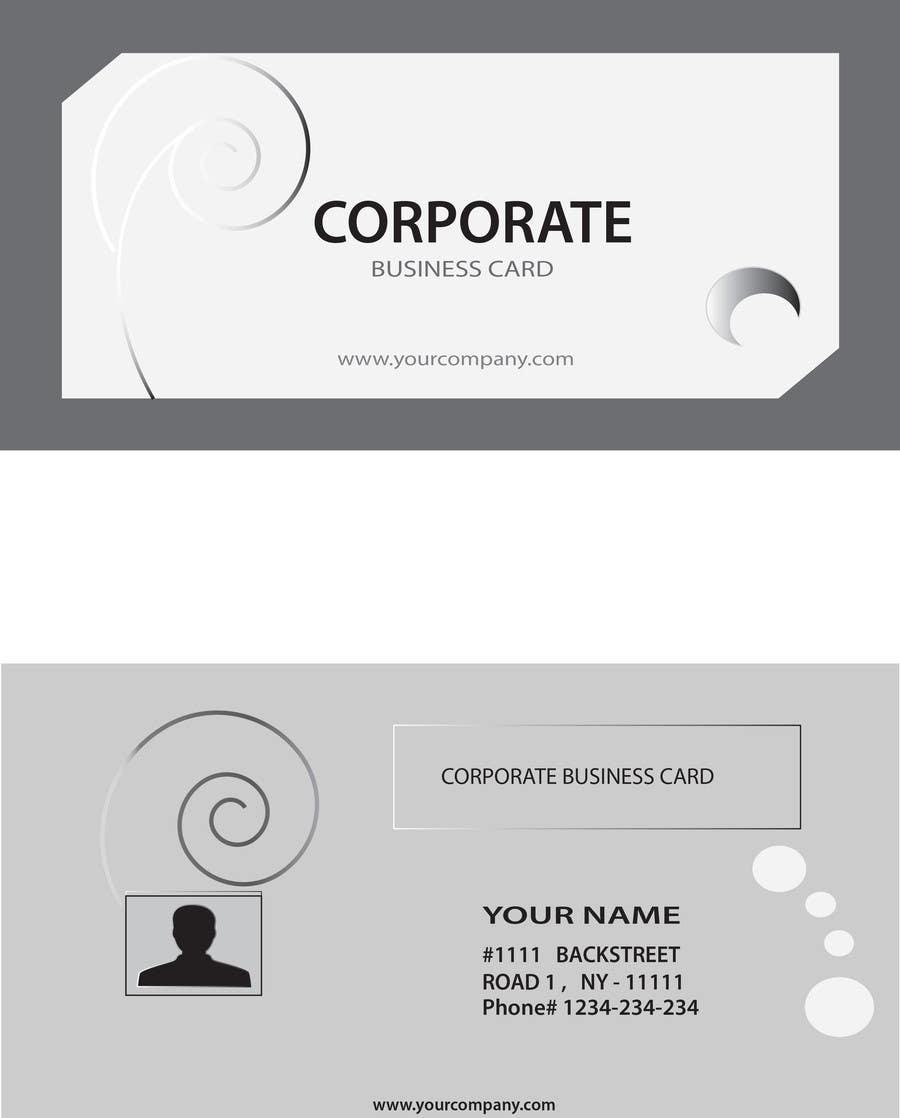 Kilpailutyö #3 kilpailussa Design Some Business Cards