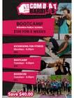 Graphic Design Kilpailutyö #28 kilpailuun Design a Flyer FOR BOOTCAMPS