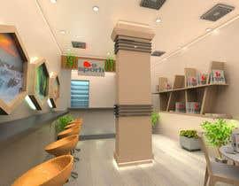 Nro 28 kilpailuun 3D Interior Design for Food Store käyttäjältä Scrpn0
