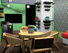 Nro 1 kilpailuun 3D Interior Design for Food Store käyttäjältä farkasbenj