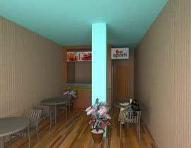Nro 23 kilpailuun 3D Interior Design for Food Store käyttäjältä trongnghiabk2005