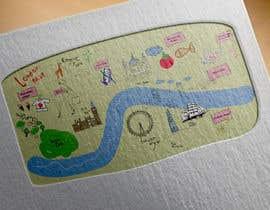 Nro 1 kilpailuun London Market Map käyttäjältä minastudio
