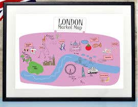 #2 for London Market Map by minastudio