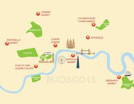 #10 for London Market Map by mjosgo15