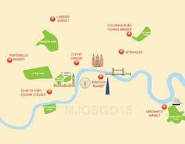 Nro 10 kilpailuun London Market Map käyttäjältä mjosgo15