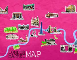 #8 for London Market Map by swidyantara