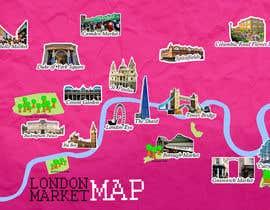 Nro 8 kilpailuun London Market Map käyttäjältä swidyantara