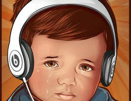 #8 для Reinvent The Crying Boy painting (Menino da Lagrima) от skewness888