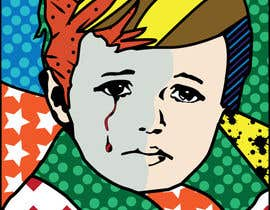 #33 for Reinvent The Crying Boy painting (Menino da Lagrima) af dougpinheiro