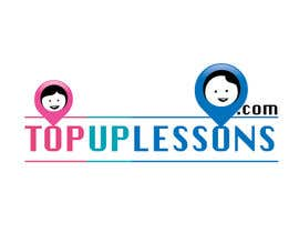 Nro 36 kilpailuun Design a logo for TopUpLessons.com käyttäjältä swapnashet