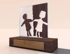 Nro 21 kilpailuun Do some 3D Modelling and design for a trophy käyttäjältä whitebrothers22