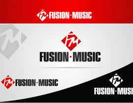 #317 para Logo Design for Fusion Music Group por ngdinc