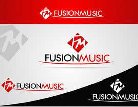 #350 para Logo Design for Fusion Music Group por ngdinc