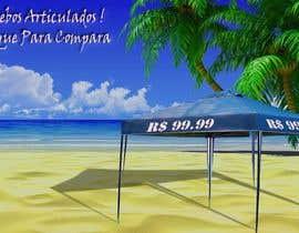 Nro 29 kilpailuun Design a Banner - Gazebo on the beach käyttäjältä Sayed2133