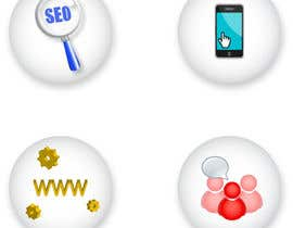 #10 for Button Design for Homepage Icons by VCool123