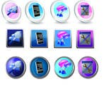 #18 for Button Design for Homepage Icons by amproductions