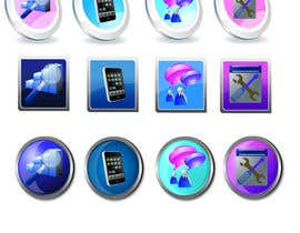 #18 for Button Design for Homepage Icons af amproductions