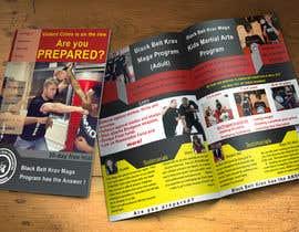 Ashwink8 tarafından Double sided folded a4 Martial Arts flyer için no 10