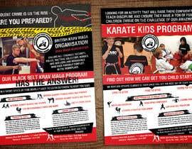 gkhaus tarafından Double sided folded a4 Martial Arts flyer için no 1