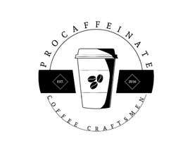 Nro 59 kilpailuun Design a Logo for a small coffee roasting business in New Zealand called Procaffeinate käyttäjältä shapeform