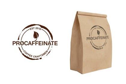 aliciavector tarafından Design a Logo for a small coffee roasting business in New Zealand called Procaffeinate için no 40