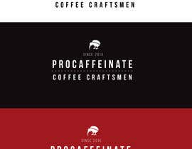 Nro 85 kilpailuun Design a Logo for a small coffee roasting business in New Zealand called Procaffeinate käyttäjältä tchendo