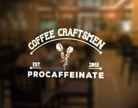 Nro 80 kilpailuun Design a Logo for a small coffee roasting business in New Zealand called Procaffeinate käyttäjältä grapkisdesigner