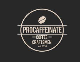 Nro 28 kilpailuun Design a Logo for a small coffee roasting business in New Zealand called Procaffeinate käyttäjältä NicolasFragnito