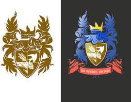 Nro 13 kilpailuun Design a family coat of arms/ family crest käyttäjältä Ashwink8