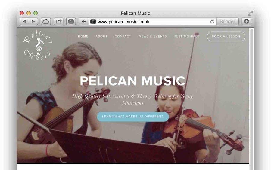 """Bài tham dự cuộc thi #79 cho Design a Logo for """"Pelican Music"""""""
