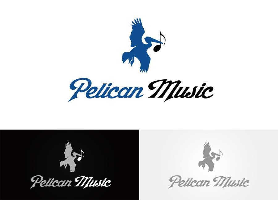 """Bài tham dự cuộc thi #4 cho Design a Logo for """"Pelican Music"""""""