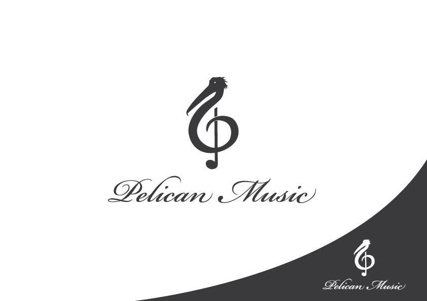 """Bài tham dự cuộc thi #36 cho Design a Logo for """"Pelican Music"""""""
