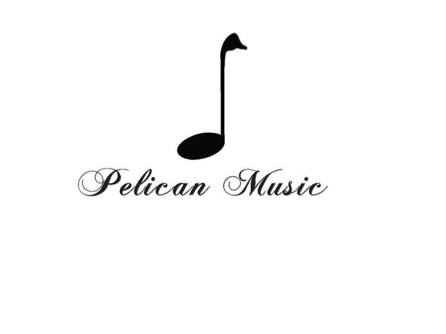 """Bài tham dự cuộc thi #75 cho Design a Logo for """"Pelican Music"""""""