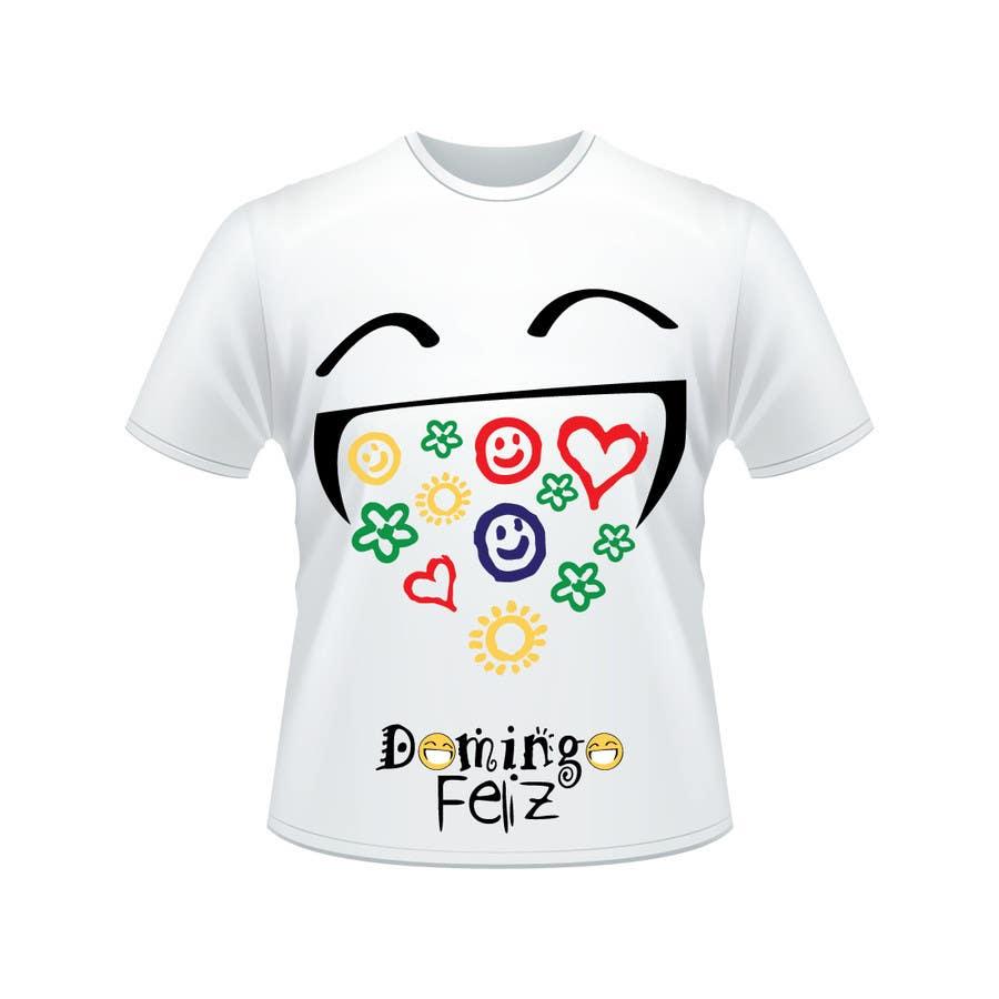 Kilpailutyö #12 kilpailussa Create shirt for Domingo Feliz