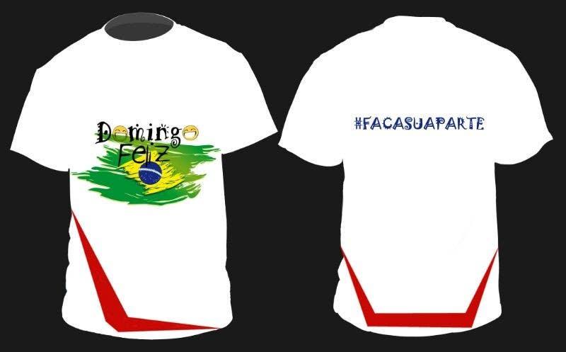 Kilpailutyö #14 kilpailussa Create shirt for Domingo Feliz