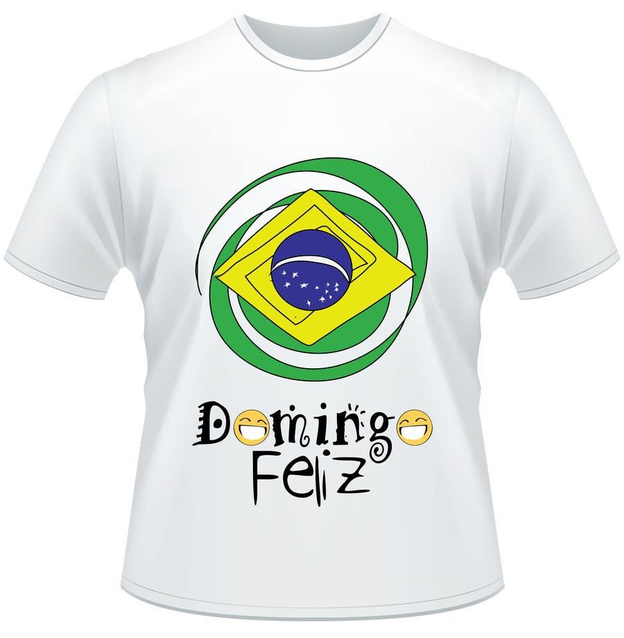 Kilpailutyö #19 kilpailussa Create shirt for Domingo Feliz