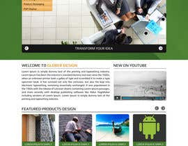 #12 cho Design a Website Mockup for our new product design website bởi asad12204