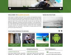 #13 cho Design a Website Mockup for our new product design website bởi asad12204