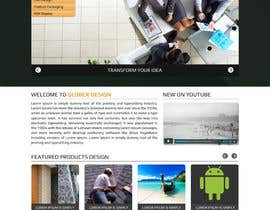 #24 cho Design a Website Mockup for our new product design website bởi asad12204