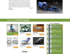 #14 cho Design a Website Mockup for our new product design website bởi vishakhvs