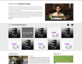 #21 cho Design a Website Mockup for our new product design website bởi deshiconcept