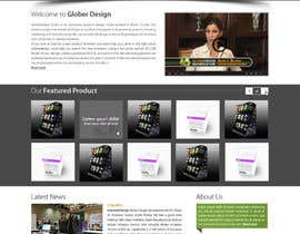 #22 cho Design a Website Mockup for our new product design website bởi deshiconcept
