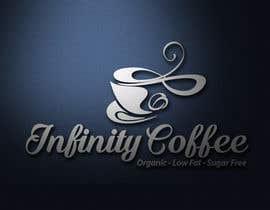 PixelAgency tarafından Design a Logo for Infinity Coffee için no 37