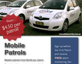 #37 for Design a Flyer for Mobile Patrol promotion af lachlan00